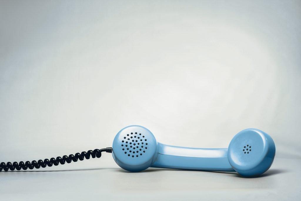 Retro corded telephone hand piece